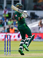 Cricket - 2019 ICC Cricket World Cup - Group Stage: Pakistan vs. Bangladesh<br /> <br /> Imad Wasim pulls <br /> at Lord's<br /> <br />  colorsport/winston bynorth