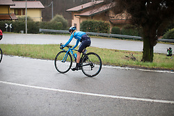 Lorena Llamas (ESP) of Movistar Women's Team descends during the Trofeo Alfredo Binda - a 131,1 km road race, between Taino and Cittiglio on March 18, 2018, in Varese, Italy. (Photo by Balint Hamvas/Velofocus.com)