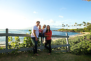 We met Mahea & Daniel and their sweet kids at Kapalua Bay for a family sunset session.