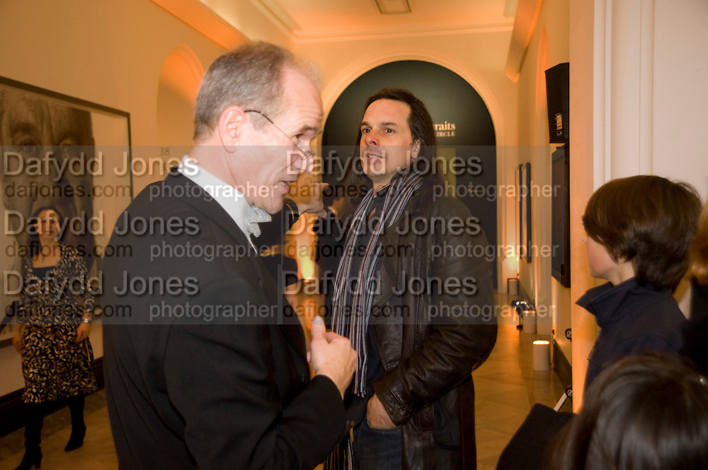 SANDY NAIRNE; PHIL HALE, National Portrait Gallery fundraising Gala in aid of its Education programme, National Portrait Gallery. London. 3 March 2009 *** Local Caption *** -DO NOT ARCHIVE-© Copyright Photograph by Dafydd Jones. 248 Clapham Rd. London SW9 0PZ. Tel 0207 820 0771. www.dafjones.com.<br /> SANDY NAIRNE; PHIL HALE, National Portrait Gallery fundraising Gala in aid of its Education programme, National Portrait Gallery. London. 3 March 2009