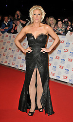 Faye Tozer Arrives At The annual National Television Awards 2013, O2 Arena, Greenwich, London, UK, January 23, 2013. Photo by i-Images.