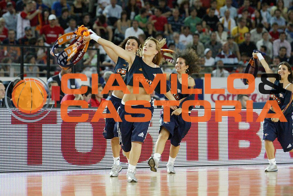 DESCRIZIONE : Roma Lega A1 2006-07 Playoff Semifinale Gara 2 Lottomatica Virtus Roma Montepaschi Siena<br /> GIOCATORE : Cheerleaders<br /> SQUADRA : Lottomatica Virtus Roma<br /> EVENTO : Campionato Lega A1 2006-2007 Playoff Semifinale Gara 2<br /> GARA : Lottomatica Virtus Roma Montepaschi Siena<br /> DATA : 02/06/2007 <br /> CATEGORIA : Ritratto<br /> SPORT : Pallacanestro <br /> AUTORE : Agenzia Ciamillo-Castoria/G.Cottini