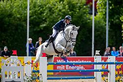MUFF Werner (SUI), Jazoe van'T Steenpaal<br /> Mannheim - Maimarkt Turnier 2019<br /> -DIE BADENIA- <br /> Großer Preis der MVV<br /> Int. Springprüfung mit Stechen (1.60 m)<br /> 07. Mai 2019<br /> © www.sportfotos-lafrentz.de/Stefan Lafrentz