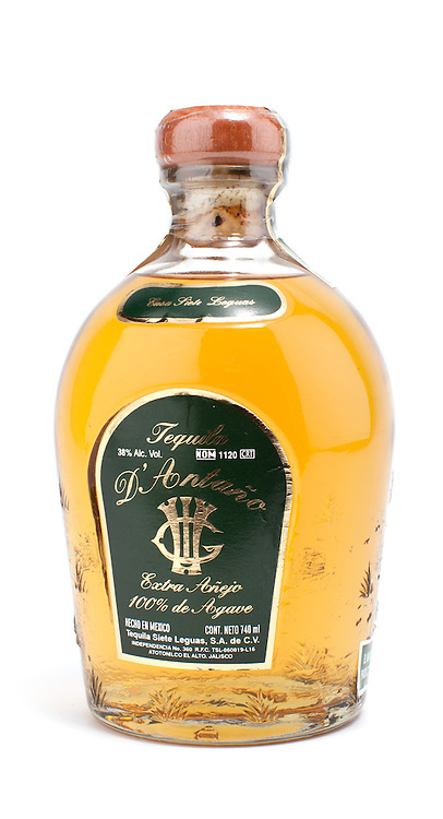 D'Antano Extra Anejo tequila -- Image originally appeared in the Tequila Matchmaker: http://tequilamatchmaker.com