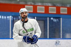 Aleksandar Makovec during team Slovenia practice at IIHF World Championship DIV. I Group A Kazakhstan 2019, on May 4, 2019 in Barys Arena, Nur-Sultan, Kazakhstan. Photo by Matic Klansek Velej / Sportida
