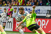 Marc Andreu (rac) during the French Championship Top 14 Rugby Union match between Racing 92 and Stade Francais Paris on march 17, 2018 at U Arena in Nanterre, France - Photo Pierre Charlier / ProSportsImages / DPPI