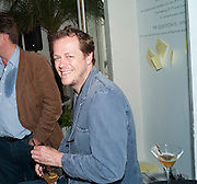TOM PARKER BOWLES, The Complete History Of Food - Courvoisier and Bompas & Parr transform a townhouse into a food and drink experience exploring gastronomy -  Belgrave Square, London 14 July 2010<br /> <br /> -DO NOT ARCHIVE-© Copyright Photograph by Dafydd Jones. 248 Clapham Rd. London SW9 0PZ. Tel 0207 820 0771. www.dafjones.com.