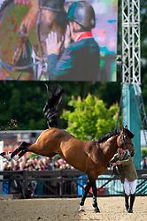 Retirement, Skelton Nick, GBR,  Big Star<br /> Royal Windsor Horse Show - Home Park, Windsor 2017<br /> © Hippo Foto - Jon Stroud<br /> 14/05/17