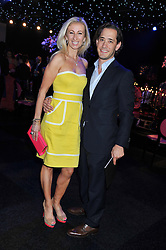 JENNY HALPERN and her husband RYAN PRINCE at the F1 Party in aid of Great Ormond Street Hospital Children's Charity held at Battersea Evolution, Battersea Park, London on 4th July 2012.