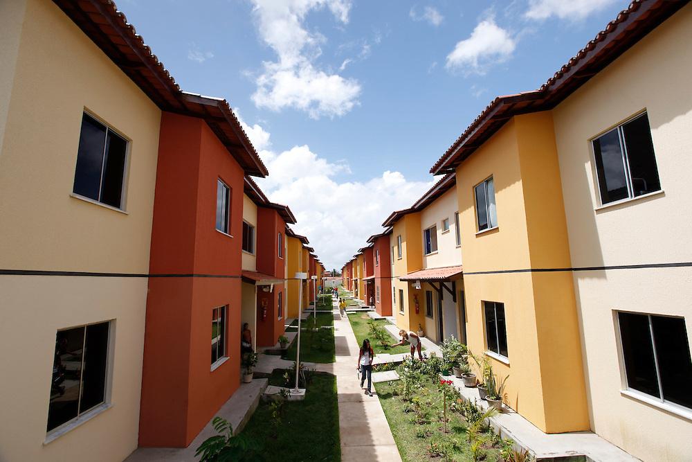 Fortaleza_CE, Brasil.<br /> <br /> Programa Minha Casa, Minha Vida em Fortaleza, Ceara.<br /> <br /> Minha Casa, Minha Vida (My House, My Life). In this photo Popular Housing in Fortaleza, Ceara.<br /> <br /> Foto:  BRUNO MAGALHAES / NITRO