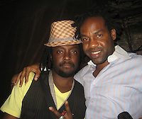 "Will.i.am of Black eyed peas and PM owner Unik.Will.i.am of Black eyed peas, ""I got it from My Mama"" Album Release Record.PM Lounge.New York City, NY, USA .Tuesday, September 25, 2007.Photo By Selma Fonseca/ Celebrityvibe.com.To license this image call (212) 410 5354 or;.Email: celebrityvibe@gmail.com; ."
