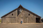 Seth Klann at his family farm, Mecca Grade Estate Malt, in Madras, Oregon.