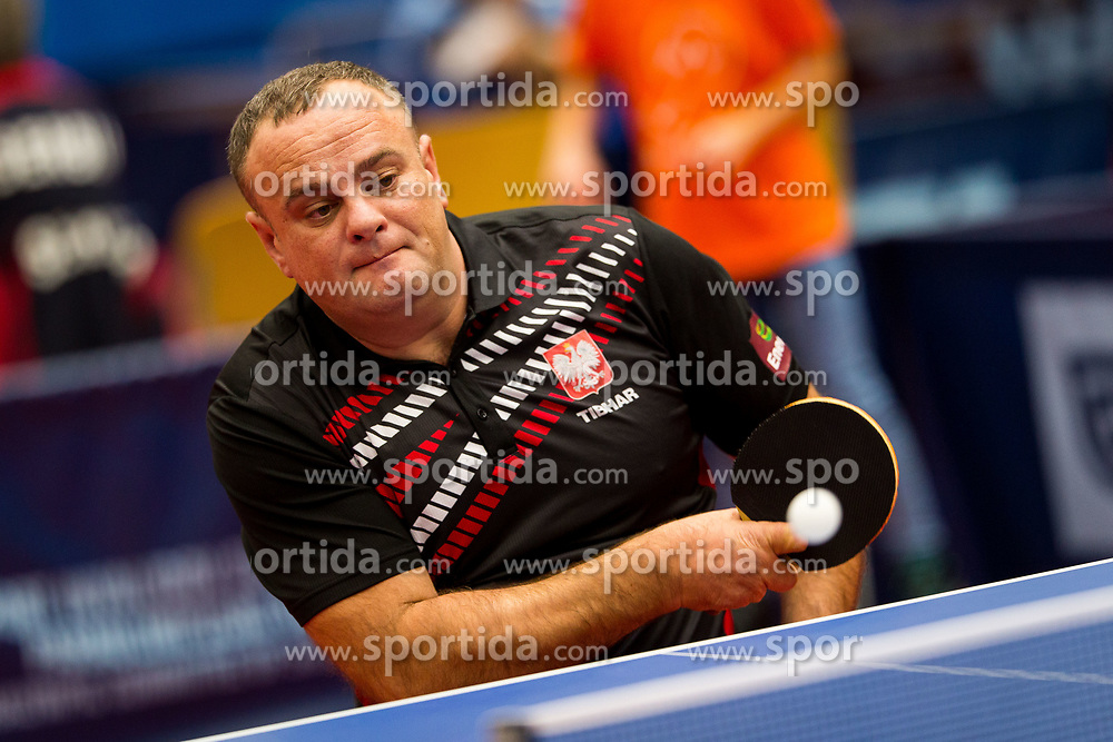 LIS Rafal during day 1 of 15th EPINT tournament - European Table Tennis Championships for the Disabled 2017, at Arena Tri Lilije, Lasko, Slovenia, on September 28, 2017. Photo by Ziga Zupan / Sportida
