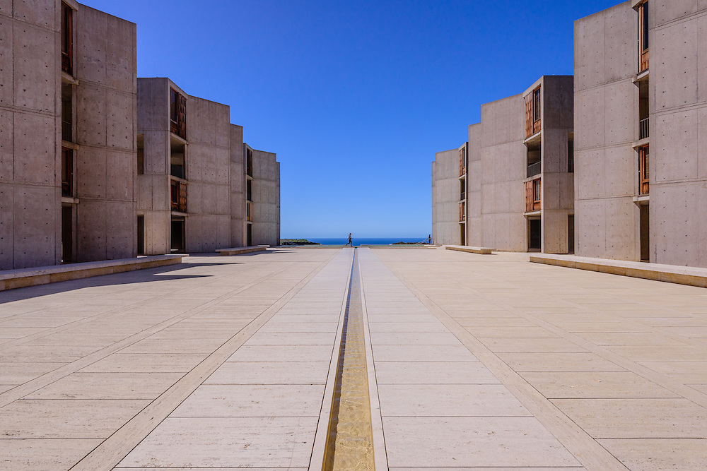 Salk Institute for Biological Studies is an independent, non-profit, scientific research institute located in La Jolla, campus was designed by Louis Kahn, California