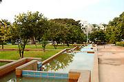 An urban park in the centre of Tel Aviv, near city hall