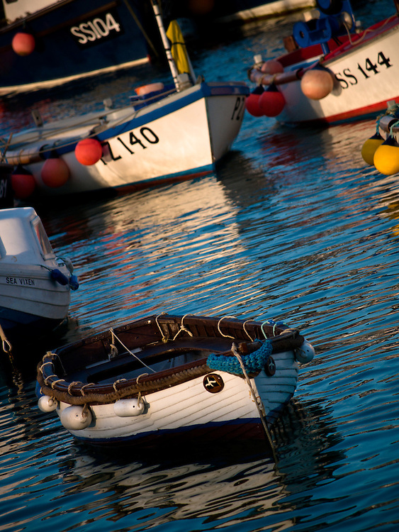 Boats in St Ives Harbour