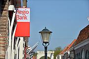 Nederland, Hasselt, 24-4-2015Een filiaal, vestiging, van de regiobank in dit kleine stadje in Overijssel.FOTO: FLIP FRANSSEN/ HOLLANDSE HOOGTE