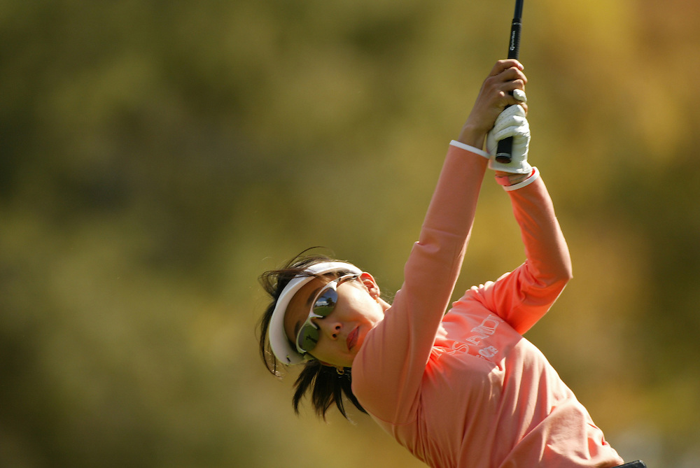 Riko Higashio..LPGA Welch's Fry's Championship.Second Round.Dell Urich Course at Randolph Park.Tucson, AZ.Friday, March 12 2004..photograph by Darren Carroll