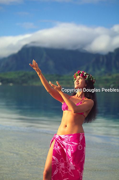 Hula Dancer, Hawaii, USA<br />