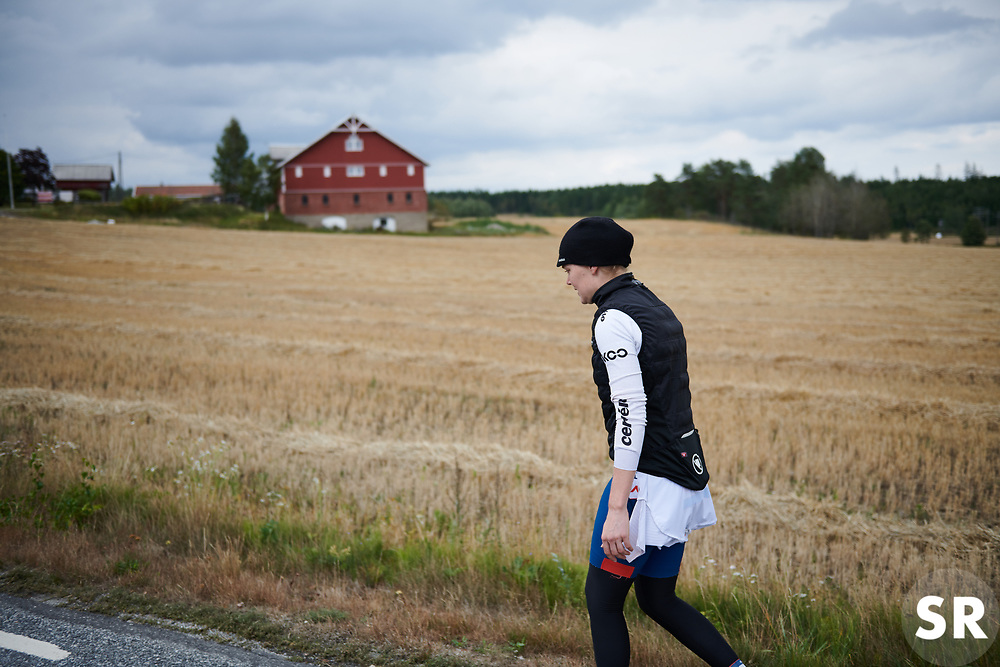 Ann-Sophie Duyck (BEL) at Ladies Tour of Norway 2018 Team Time Trial, a 24 km team time trial from Aremark to Halden, Norway on August 16, 2018. Photo by Sean Robinson/velofocus.com