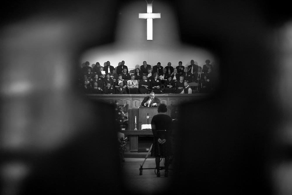 Photographs from Cedar Street Memorial Baptist Church, Sunday, March 29, 2009