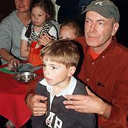 CD uitreiking Johan Hoogeboom, Burny Bos, vrouw en gezin