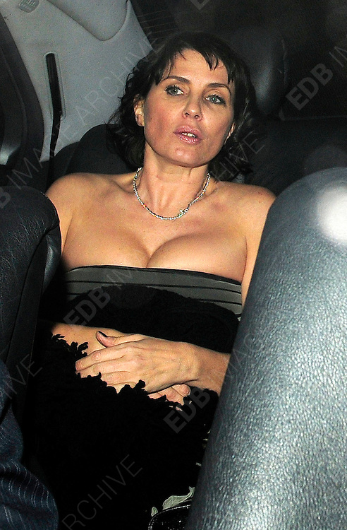 18.MARCH.2009 - LONDON<br />  <br /> SADIE FROST ARRIVING AND LEAVING THE MUMMY ROCKS FUNDRAISER FOR GREAT ORMAND STREET HOSPITAL HELD AT THE JEWELLERY STORE, MAYFAIR. <br /> <br /> BYLINE MUST READ : EDBIMAGEARCHIVE.COM<br /> <br /> *THIS IMAGE IS STRICTLY FOR UK NEWSPAPERS &amp; MAGAZINES ONLY*<br /> *FOR WORLDWIDE SALES AND WEB USE PLEASE CONTACT EDBIMAGEARCHIVE - 0208 954-5968*