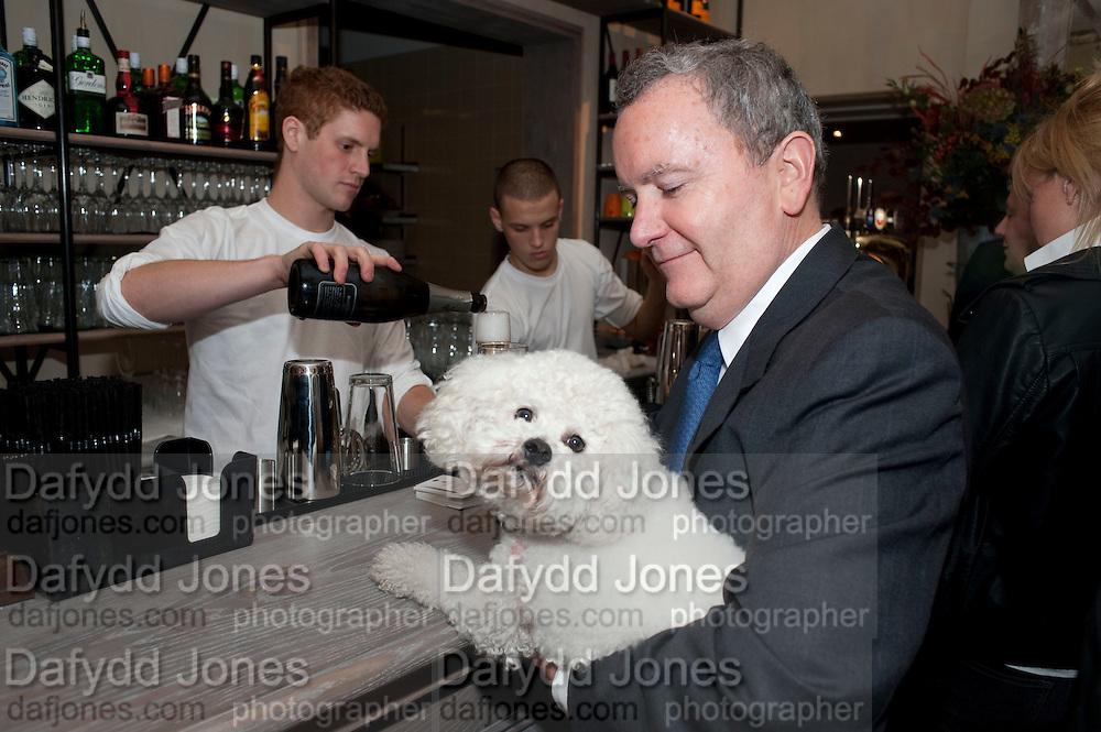 MICHAEL LENORA; ELLIOT, Launch of the Orange restaurant, 37 Pimlico Road, SW1W 8NE,  Thursday 29 October 2009