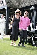 Elizabeth Murdoch and Matthew Freud, Guy Leymarie and Tara Getty host The De Beers Cricket Match. The Lashings Team versus the Old English team. Wormsley. ONE TIME USE ONLY - DO NOT ARCHIVE  © Copyright Photograph by Dafydd Jones 66 Stockwell Park Rd. London SW9 0DA Tel 020 7733 0108 www.dafjones.com