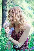 2012 Maroon Flower Dress - Jessie James Hollywood