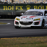 Team SpeedSource  competing at the Rolex 24 at Daytona 2012