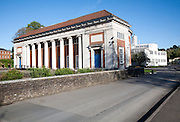 Memorial Hall building and Science block, Marlborough College school, Marlborough, Wiltshire, England
