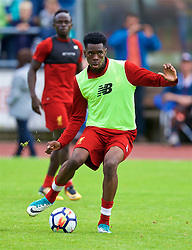 ROTTACH-EGERN, GERMANY - Friday, July 28, 2017: Liverpool's Oviemuno Ovie Ejaria during a training session at FC Rottach-Egern on day three of the preseason training camp in Germany. (Pic by David Rawcliffe/Propaganda)