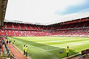 Inside  general stadium view before the Michael Carrick Testimonial Match between Manchester United 2008 XI and Michael Carrick All-Star XI at Old Trafford, Manchester, England on 4 June 2017. Photo by Phil Duncan.