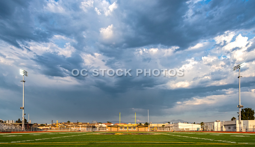 Football Stadium at Garden Grove High School