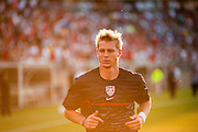 EAST HARTFORD, CONNECTICUT. JULY 26, 2013. U.S. Brek Shea during a game against Costa Rica for the Gold Cup 2013 in Rentschler Field in East Harford, CT. on July 16, 2013.