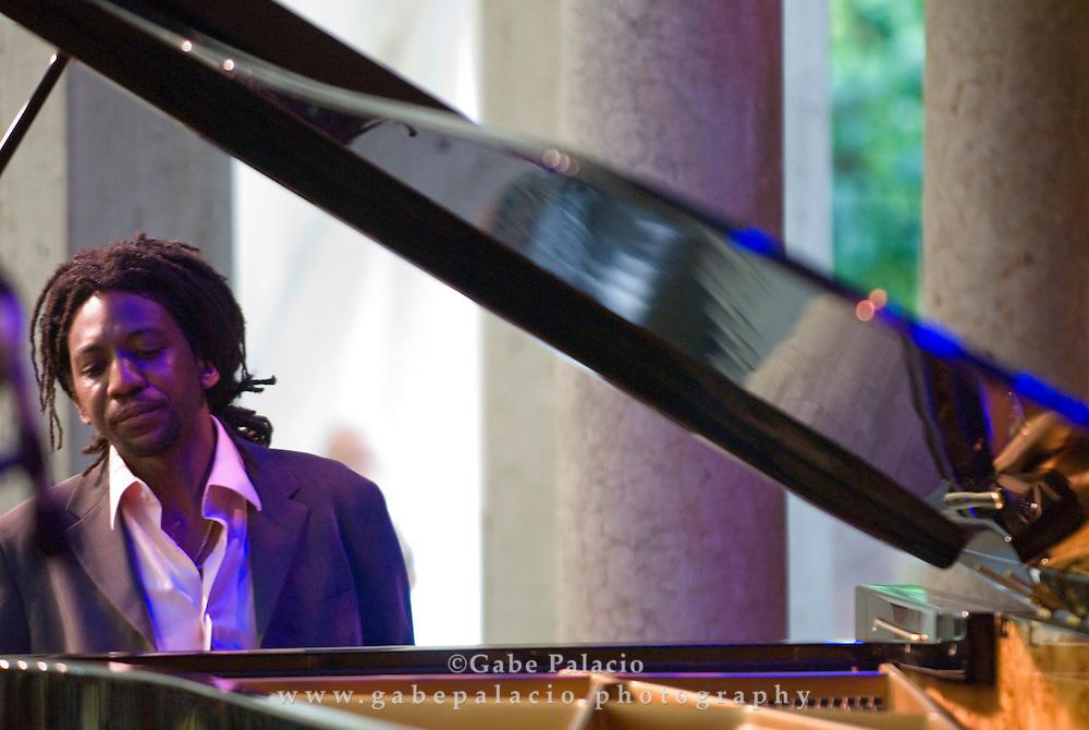 Elio Villafranca performing in the Jazz Festival II  in the Venetian Theater at Caramoor  in Katonah, New York on Friday, Aug 1, 2008.