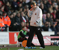 Photo: Lee Earle.<br /> Southampton v Hull City. Coca Cola Championship. 04/11/2006. Hull manager Phil Parkinson.
