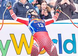 25.01.2020, Streif, Kitzbühel, AUT, FIS Weltcup Ski Alpin, Abfahrt, Herren, im Bild Matthias Mayer (AUT) // Matthias Mayer of Austria reacts after his run in the men's downhill of FIS Ski Alpine World Cup at the Streif in Kitzbühel, Austria on 2020/01/25. EXPA Pictures © 2020, PhotoCredit: EXPA/ Stefan Adelsberger