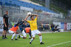 Jaka Inbeisheh of Bravo during football match between NK Celje and NK Bravo in 4th Round of Prva liga Telekom Slovenije 2019/20, on August 02, 2019 in Stadion Z'dezele, Celje, Slovenia. Photo by Milos Vujinovic / Sportida