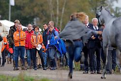 Hou Bettina, GER, Van Zon Jantien, Enzerink Edwin, NED<br /> CCI 3* Boekelo 2017<br /> © Dirk Caremans<br /> 08/10/2017