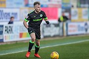 Forest Green Rovers George Williams(11) on the ball during the EFL Sky Bet League 2 match between Mansfield Town and Forest Green Rovers at the One Call Stadium, Mansfield, England on 23 February 2019.