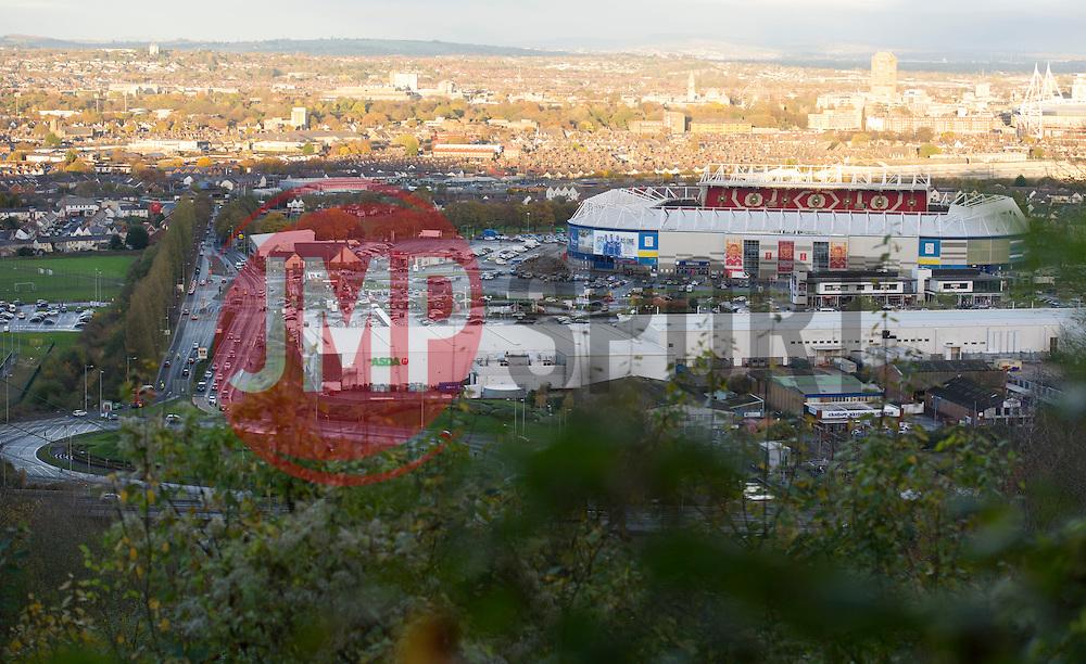 General view of the Cardiff City stadium.  - Mandatory by-line: Alex James/JMP - 12/11/2016 - FOOTBALL - Cardiff City Stadium - Cardiff, United Kingdom - Wales v Serbia - FIFA European World Cup Qualifiers