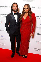 Jay Rutland and Tamara Ecclestone attending the 9th Annual Global Gift Gala held at the Rosewood Hotel, London.