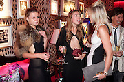 BENEDICTE WILHELNSEN; ANOUSKHA BECKWITH, Dinner and party  to celebrate the launch of the new Cavalli Store at the Battersea Power station. London. 17 September 2011. <br /> <br />  , -DO NOT ARCHIVE-© Copyright Photograph by Dafydd Jones. 248 Clapham Rd. London SW9 0PZ. Tel 0207 820 0771. www.dafjones.com.