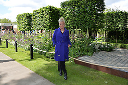 KIM WILDE at the 2016 RHS Chelsea Flower Show, Royal Hospital Chelsea, London on 23rd May 2016