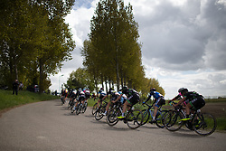Riejanne Markus (NED) of WM3 Pro Cycling Team rides mid-pack during the first lap the Omloop van Borsele - a 107.1 km road race, starting and finishing in s'-Heerenhoek on April 22, 2017, in Borsele, the Netherlands.