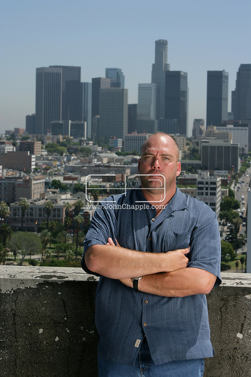 28th August 2007, Los Angeles, California. Hollywood Private Investigator, Edward W. Beyer who is the CEO of Trans West Investigations. .PHOTO © JOHN CHAPPLE / REBEL IMAGES.t: 310 570 9100
