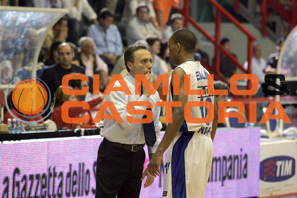 DESCRIZIONE : Napoli Lega A1 2006-07 Eldo Napoli Benetton Treviso <br /> GIOCATORE : Bucchi Ellis<br /> SQUADRA : Eldo Napoli<br /> EVENTO : Campionato Lega A1 2006-2007 <br /> GARA : Eldo Napoli Benetton Treviso<br /> DATA : 13/05/2007<br /> CATEGORIA : <br /> SPORT : Pallacanestro <br /> AUTORE : Agenzia Ciamillo-Castoria/A.De Lise