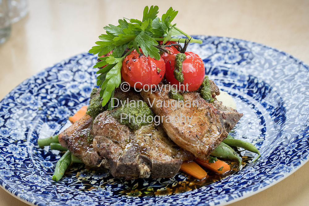 24-6-16<br /> <br /> The Lamb Chops at STEF HANS in Thurles Co Tipperary.
